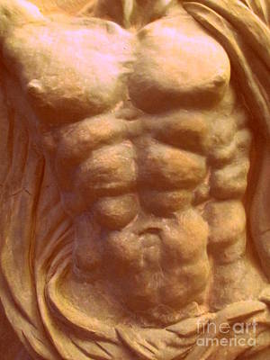 Photograph - Beige Torso by Randall Weidner