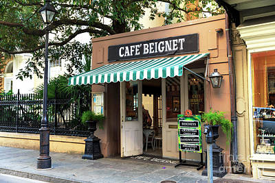 Photograph - Beignets At Cafe Beignet by John Rizzuto