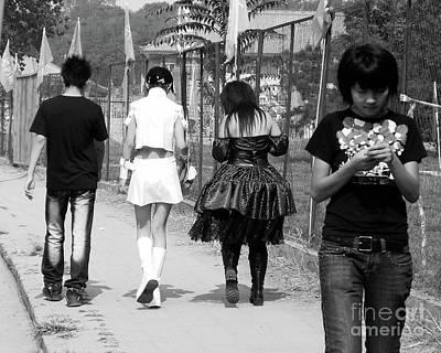 Photograph - Beijing City 13 by Xueling Zou