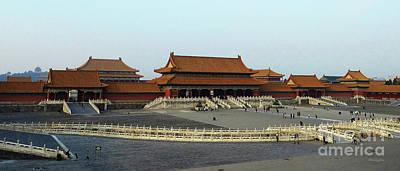 Photograph - Beijing City 28 by Xueling Zou