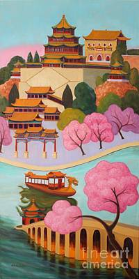 Painting - Beijing Summer Palace by Ruth Soller