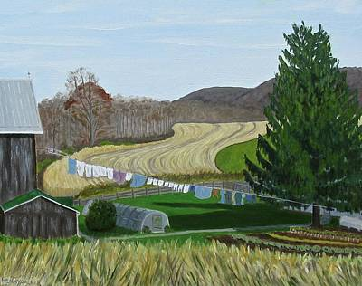 Painting - Beiler's View Of Egg Hill by Barb Pennypacker