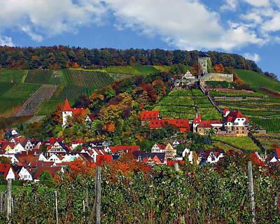 Photograph - Beilstein Panorama by Anthony Dezenzio