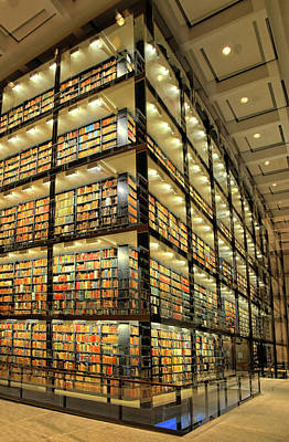 Photograph - Beinecke Library At Yale University by Dave Mills