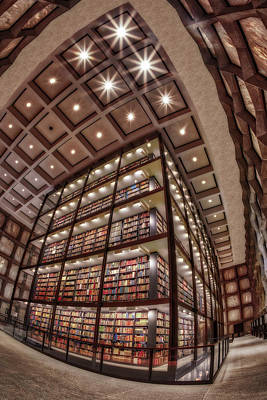 Photograph - Beinecke Rare Book And Manuscript Library II by Susan Candelario