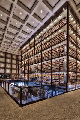 Photograph - Beinecke Rare Book And Manuscript Library by Susan Candelario