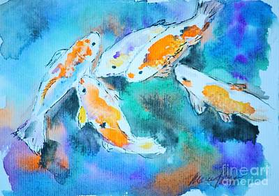 Painting - Being Koi by Marcia Breznay