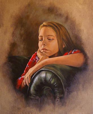Painting - Being Twelve by Tim Thorpe
