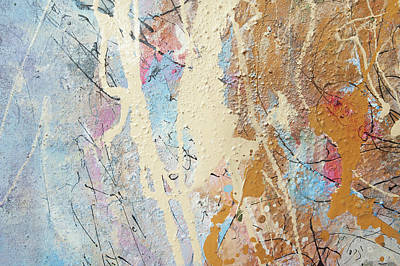 Painting - Being Universe. From Chaos To Order. Fragment 2 by Anna Skorko