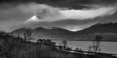 Pop Art Rights Managed Images - Beinn na Cro and Loch Slapin, Isle of Skye Royalty-Free Image by Peter OReilly