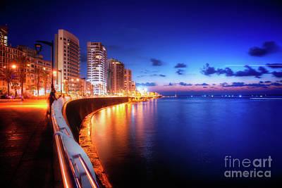 Photograph - Beirut Seacoast by Aperturez - Mohamed Hassouneh Photography