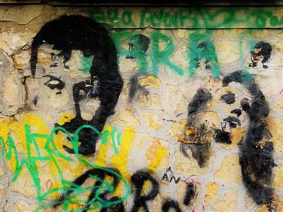 Photograph - Beirut Wall Love by Funkpix Photo Hunter