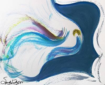 Beit Breathe And Meditate Art Print