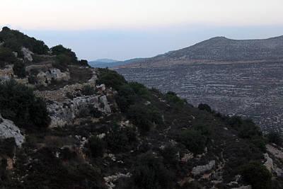 Beit Jala Valley Original by Munir Alawi