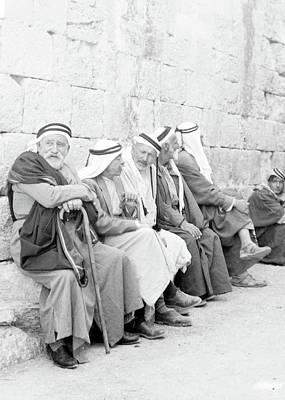 Photograph - Beit Sahour 1940 by Munir Alawi