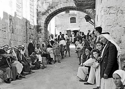 Photograph - Beit Sahour Citizens by Munir Alawi