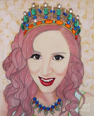 Painting - Bejeweled Beauties - Katrina by Malinda Prud'homme