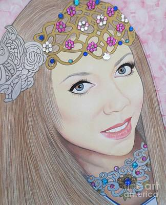 Painting - Bejeweled Beauties - Veronica by Malinda Prudhomme