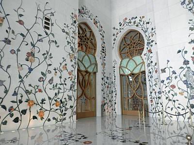Photograph - Bejewelled Walls by Pema Hou