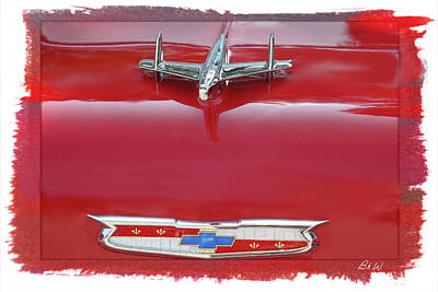 Digital Art - Bel Air Chevrolet  by Bonnie Willis