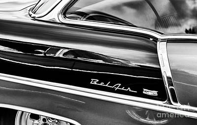 Photograph - Bel Air In Black by Tim Gainey