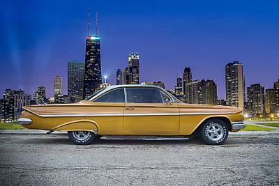 Bel Air In Chicago Art Print by Darek Szupina Photographer