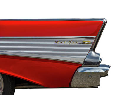 Classic Hot Rod Photograph - Bel Air by Peter Tellone
