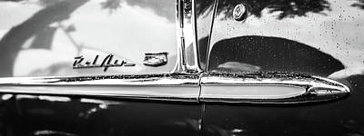 For Sale Photograph - Bel Air Profile Black And White by Geoff Mckay