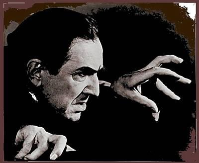 Target Threshold Nature - Bela Lugosi circa 1935-2015 by David Lee Guss