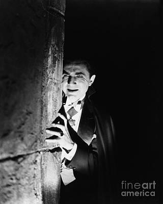 Mixed Media - Bela Lugosi Dracula by R Muirhead Art