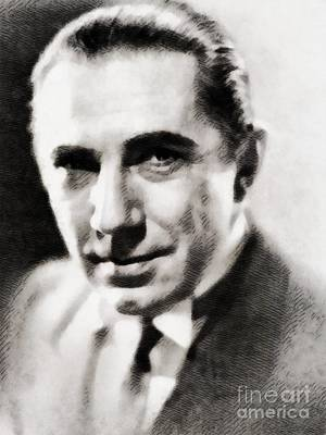 Bela Painting - Bela Lugosi, Hollywood Legend by John Springfield