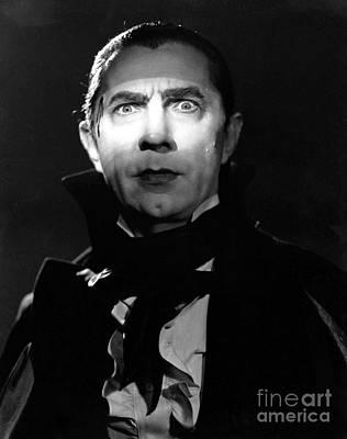 Photograph - Bela Lugosi Mark Of The Vampire by R Muirhead Art