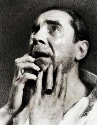 Bela Lugosi Painting - Bela Lugosi, Vintage Actor by John Springfield