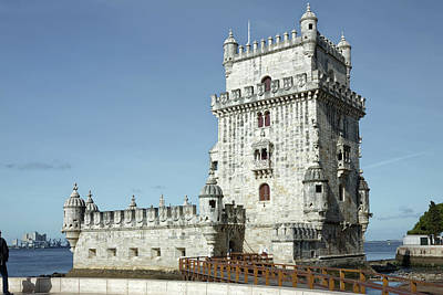 Photograph - Belem Tower 1520 by Sally Weigand