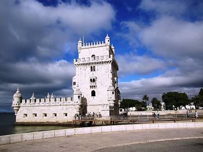 Photograph - Belem Tower Castle Iv Lisbon Portugal by John Shiron