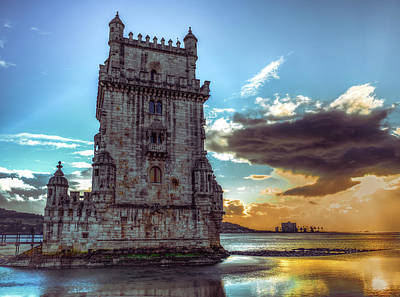 Art Print featuring the photograph Belem Tower II by Nisah Cheatham