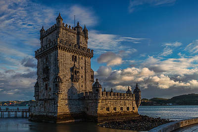 Photograph - Belem Tower by Nisah Cheatham