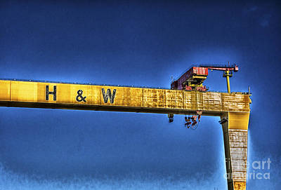 Photograph - Belfast Crane by Jim Orr