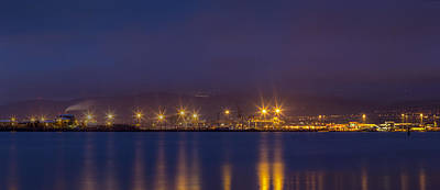 Photograph - Belfast Harbour From Holywood by Glen Sumner