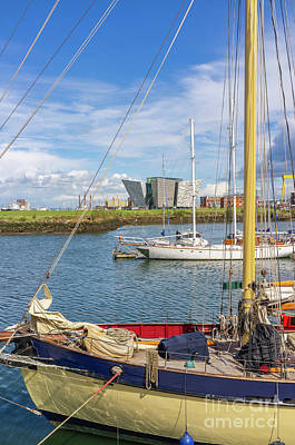 Photograph - Belfast Harbour Marina by Jim Orr