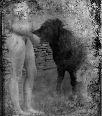 Belfast Nude With Mininature  Art Print