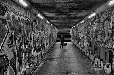 Photograph - Belfast Subway by Jim Orr