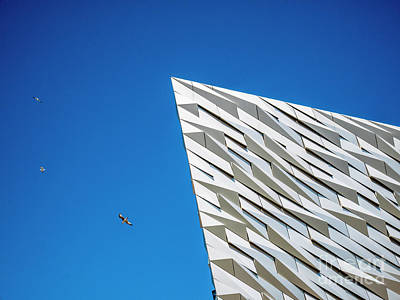 Photograph - Belfast Titanic Building by Jim Orr