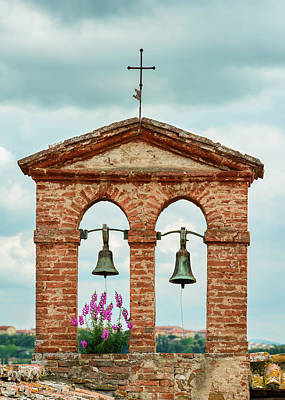 Photograph - Belfry At Montisi by Michael Blanchette