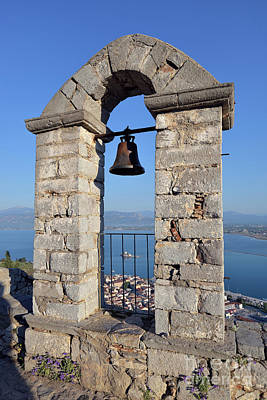 Photograph - Belfry On Palamidi Castle by George Atsametakis