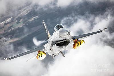 Photograph - Belgian F-16 Falcon 1 by Rastislav Margus