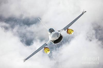 Photograph - Belgian F-16 Falcon 2 by Rastislav Margus