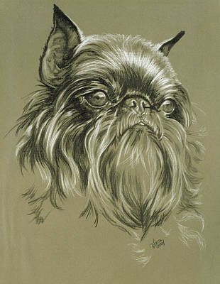 Belgian Griffon Original by Barbara Keith
