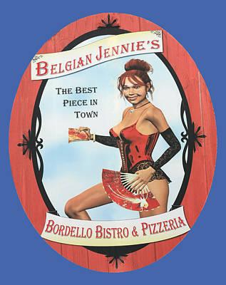 Jerome Arizona Photograph - Belgian Jennie's by Ellen Henneke