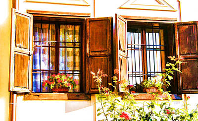 Photograph - Belgrade Windows by Rick Bragan
